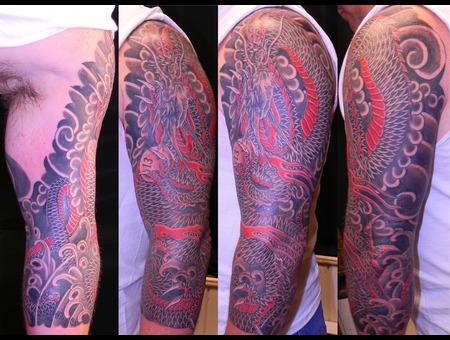 Dragon 3/4 Sleeve