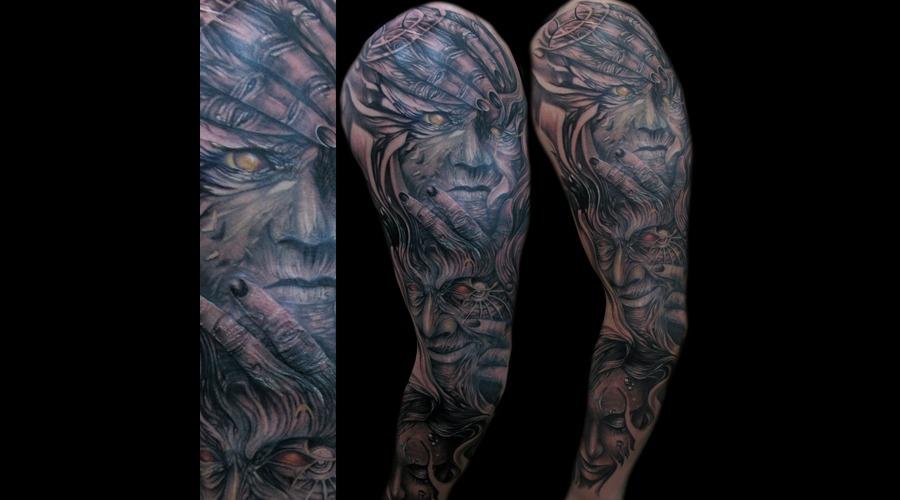 Face  Zodiac  Morph   Black White