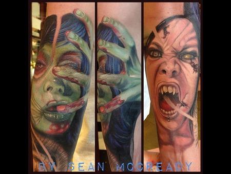 Zombie  Macabre  Horror  Color Portrait  Portrait Color