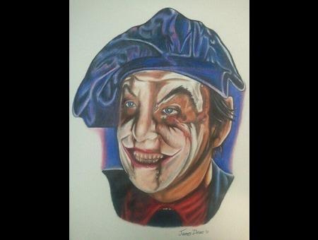 Color Pencil Portrait Drawing Color