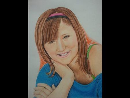 Color Pencil  Portrait Color