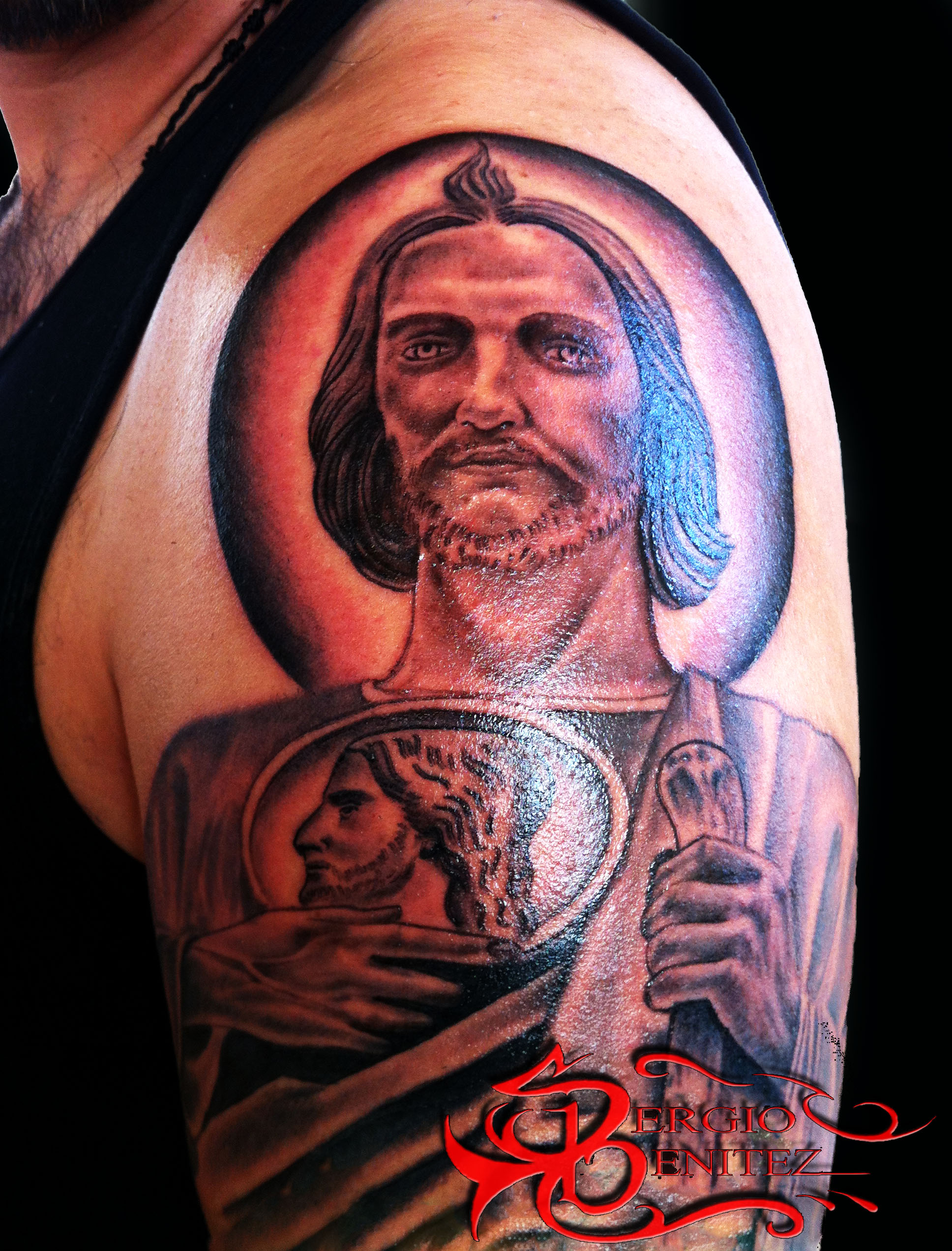 San Judas Tattoo: Certified Artist