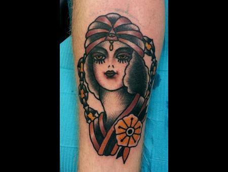 Gypsy  Girl Color