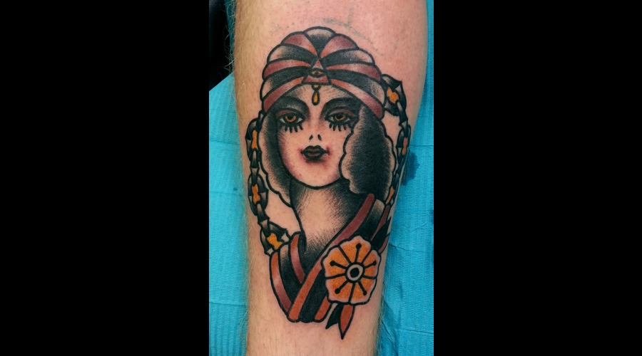Gypsy  Girl Color