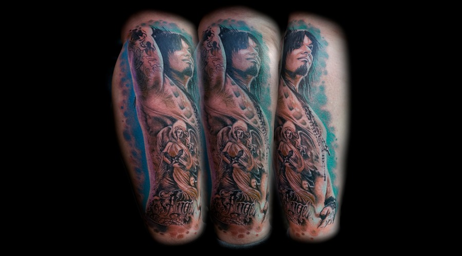 Nikki Sixx  Portrait   Color