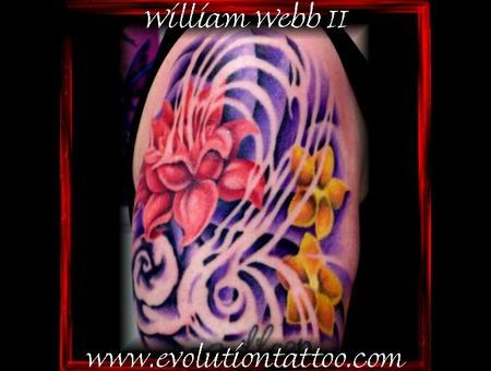 Flowers Lotus William Webb Color