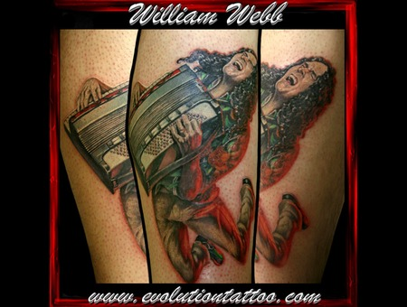 Weird Al  Portrait William Webb Guitar Color