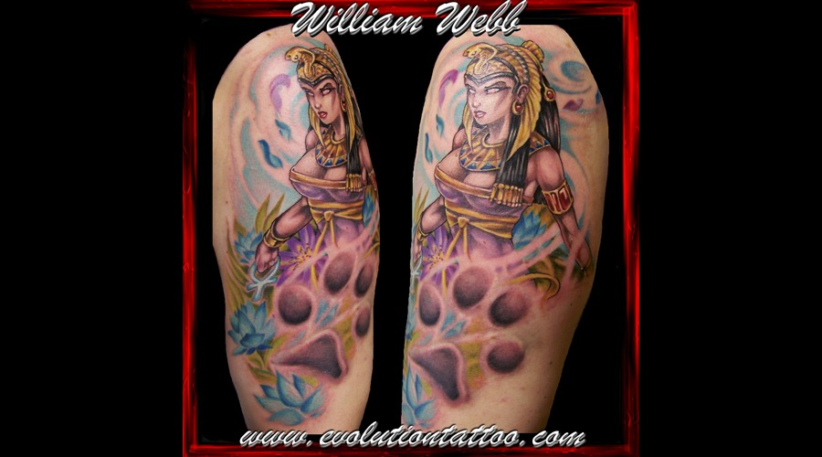 Isis Egyptian Godess Woman William Webb Color