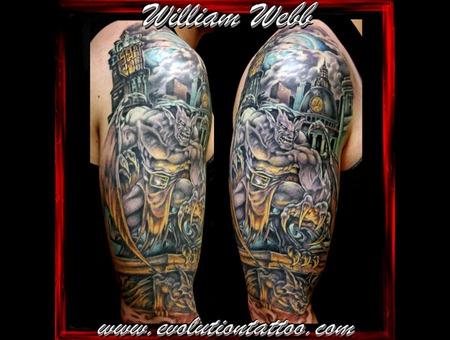Gargoyles Statue William Webb Color