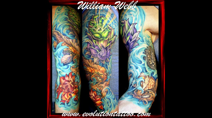 Japanese Koi William Webb Color