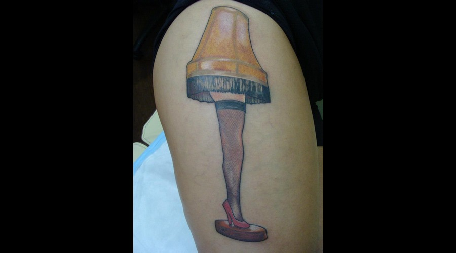 Leg Lamp  Thigh  Color Color