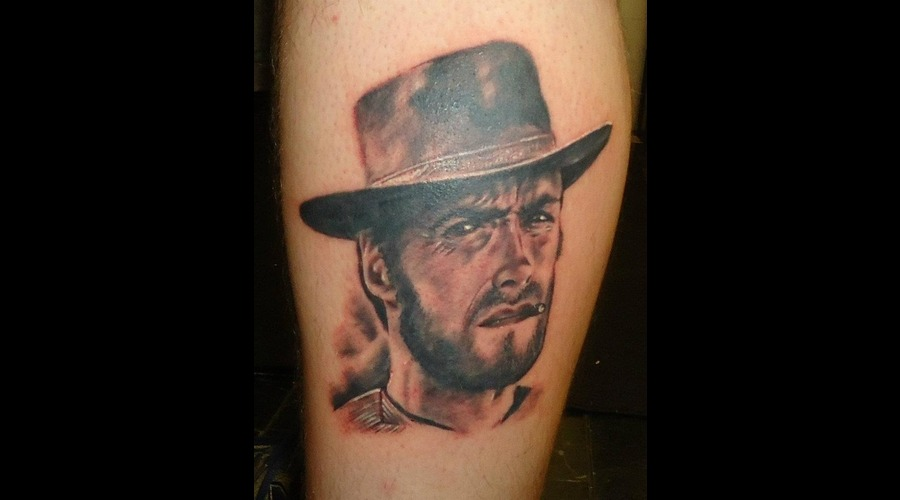 Clint Eastwood  Man With No Name  Portrait  Cowboy
