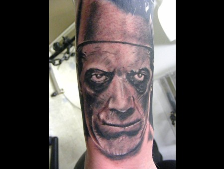 The Mummy  Boris Karloff  Portrait