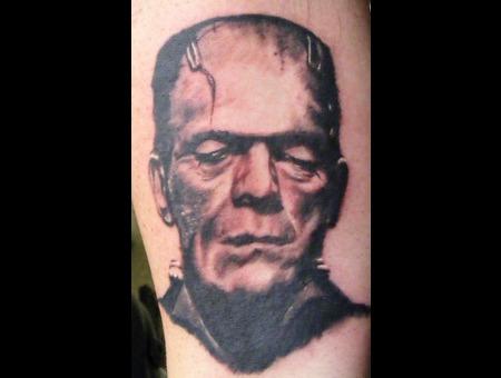 Frankenstein  Boris Karloff  Portrait