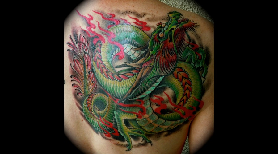 Japanese Dragon Color