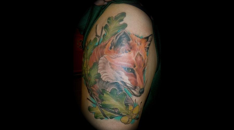 Fox Fall Color