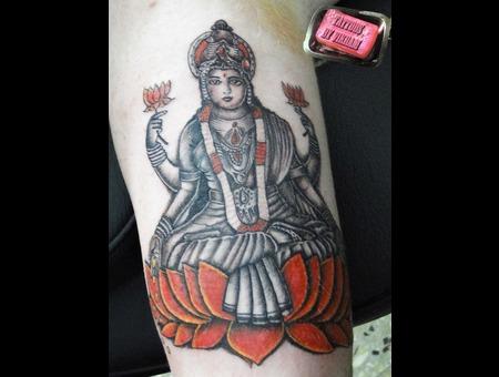 Laxmi Goddess Hindu Vikram Color