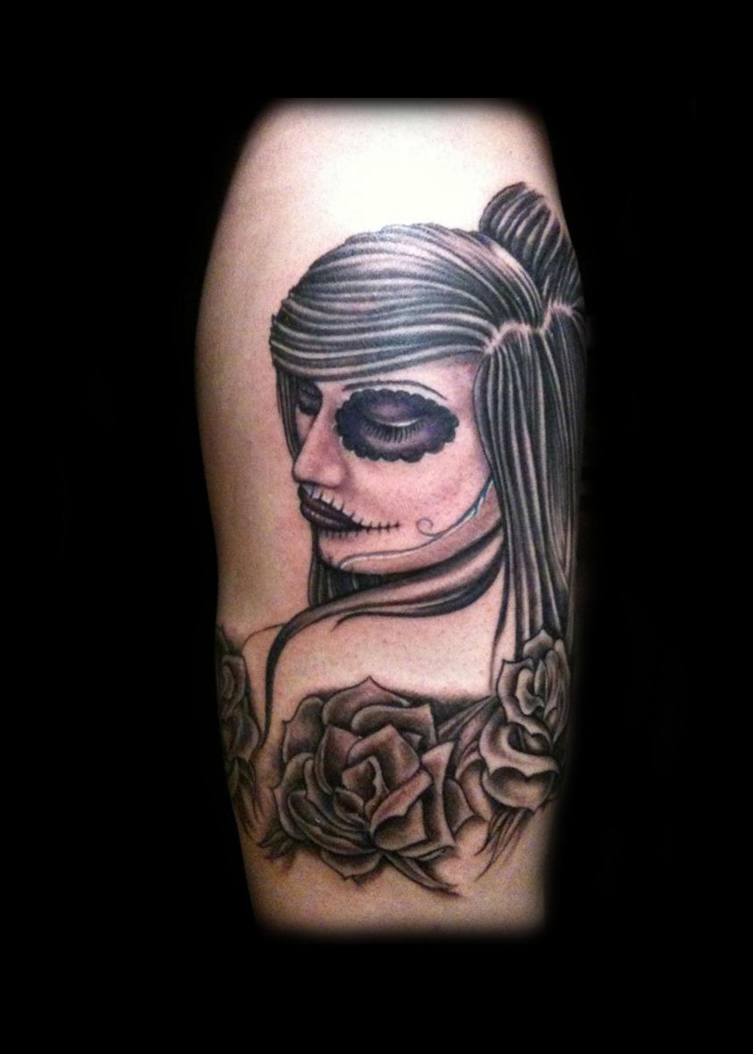 Brandon novak arm tattoos