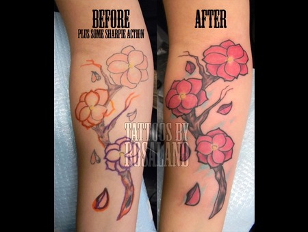 Rework  Cover Up Color Forearm