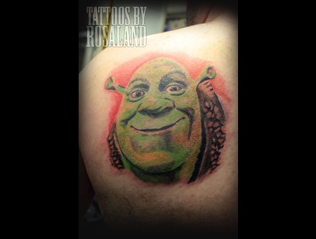 Shrek Color Shoulder