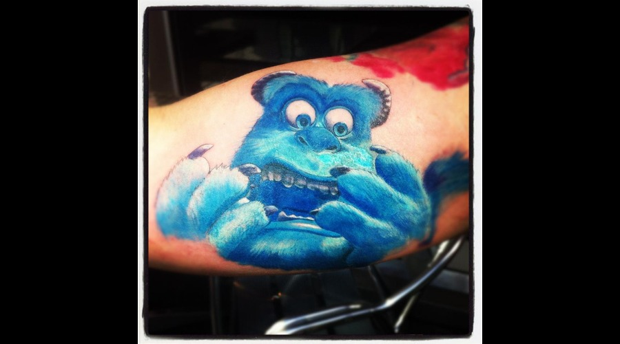 Sully  Monsters  Pixar Color
