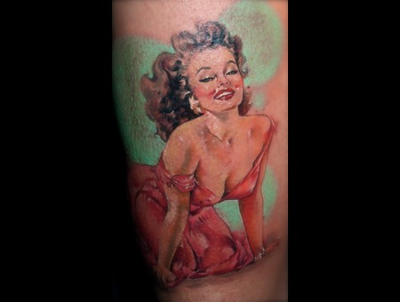Pinup  Colour  Female  Realism Color