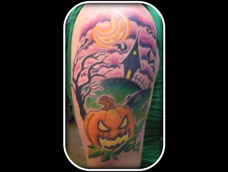 Halloween Pumpkin  Color
