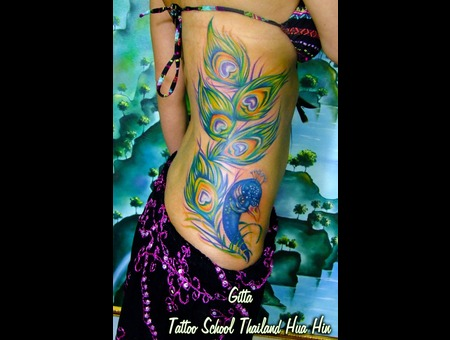 Done By Gitta From Tattooschoolthailand Color