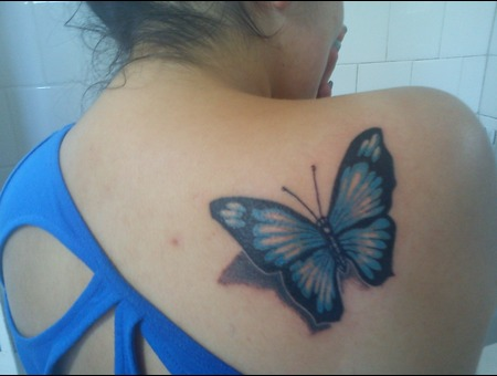 Tattoo Mariposa Color
