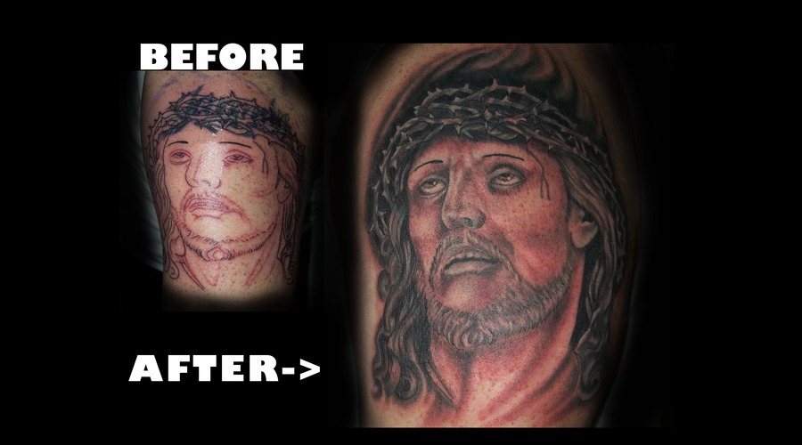Christo  Cover Up Black White