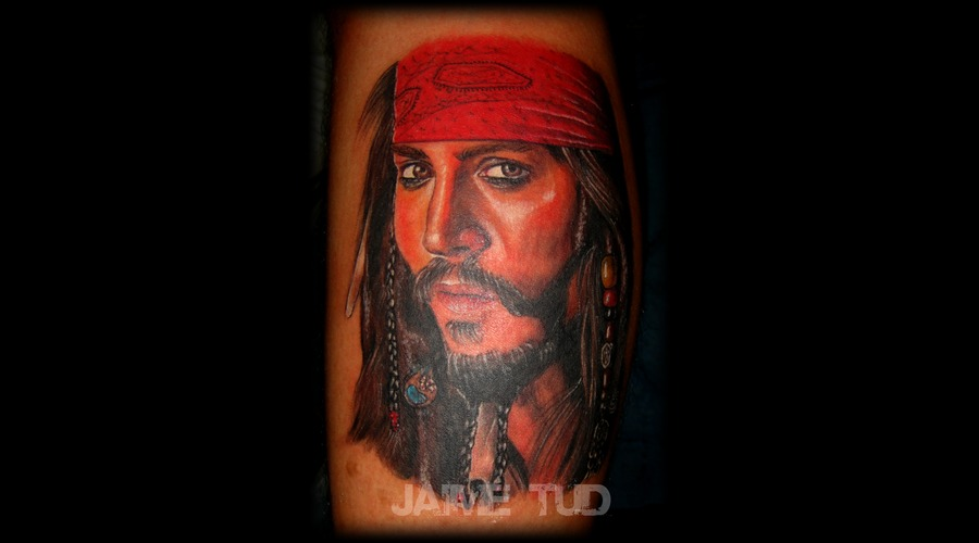 Jack Sparrow  Realism  Portrait Color