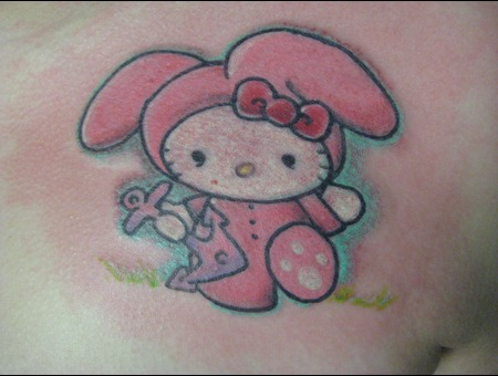 Hello Kitty  Bunny  Rabbit  Chest Color