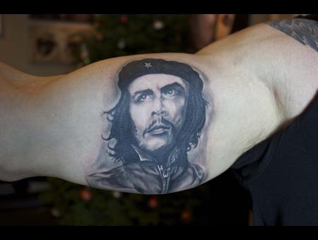 Che Guevara Portrait   Black White