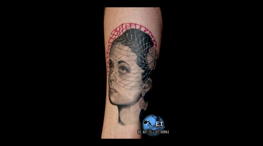 Trash Polka  Realism  Stencil  Abstract  Portrait  Sleeve Black White