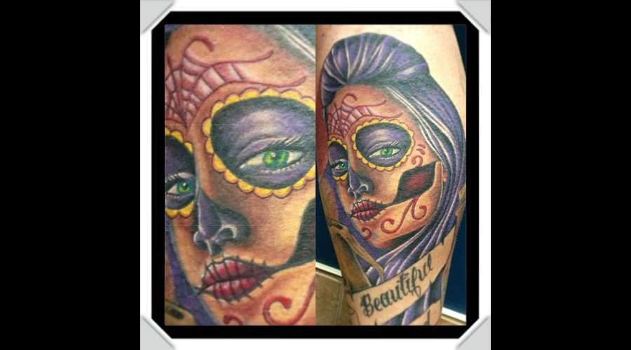 Day Of The Dead Girl Color