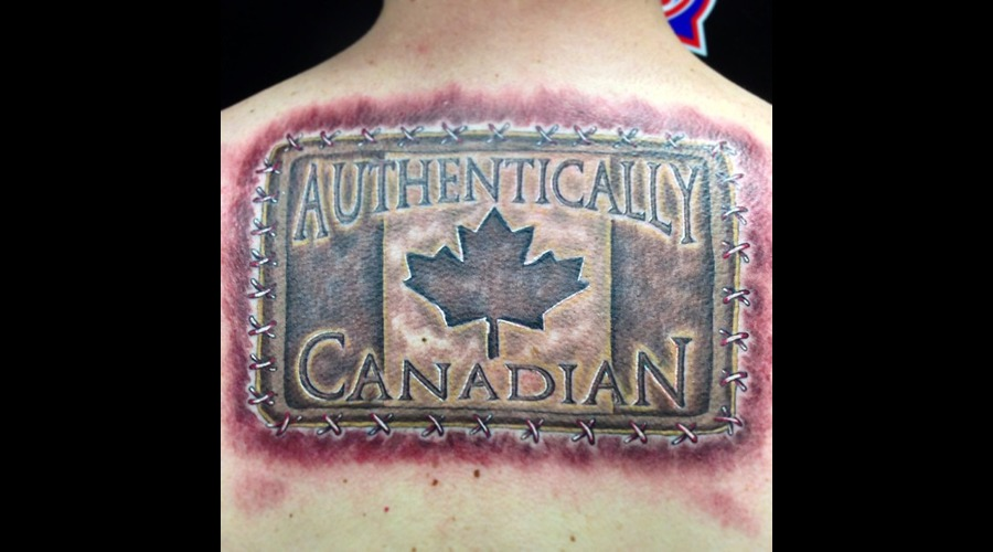 Leather Patch  Canadian   Color