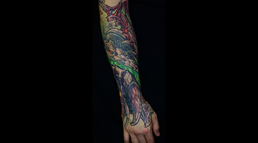 Color  Evil  Biomech  Arm  Color