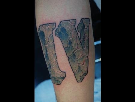 Iv  4  Roman Numerals  Stone  Rock  Arm Color