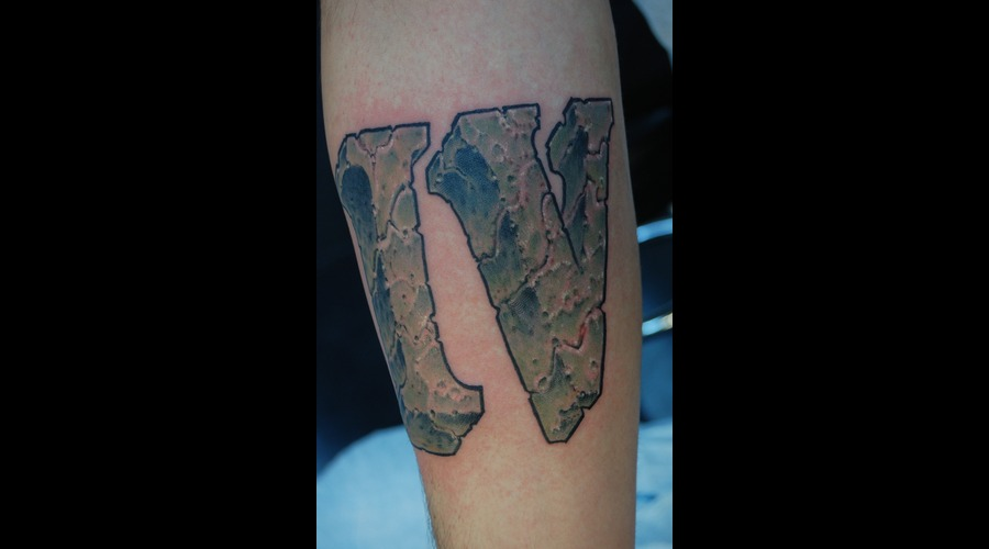Iv  4  Roman Numerals  Stone  Rock  Arm Color