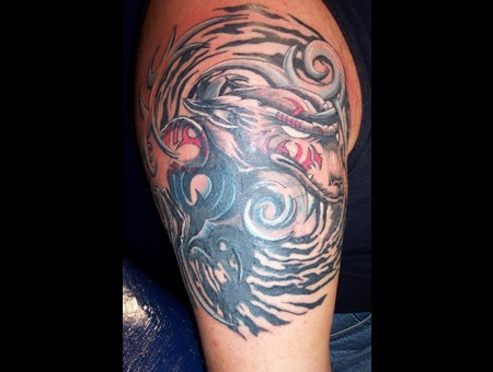 Cover Up  Bio Mechanical   Color Arm