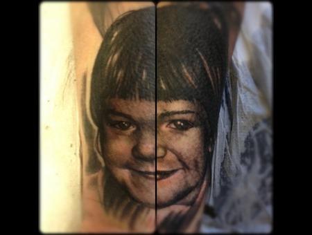 Portrait Blackandgrey Realistic Small Cute Black White