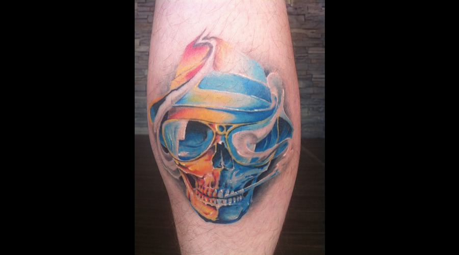 Hunter S Thomas Skull Color
