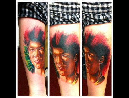 Portrait Hook Rufio Peter Pan
