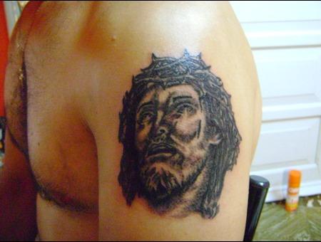 Religioso Black White