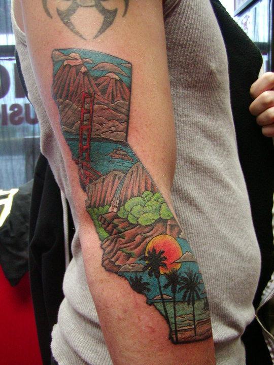 Justin edwards monasmith certified artist for Bay area tattoo
