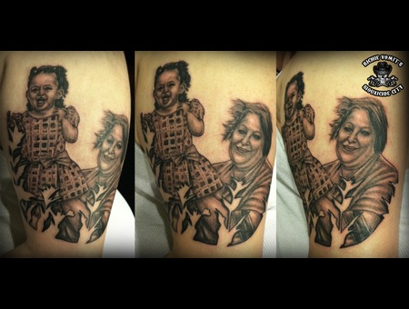 Black White Arm