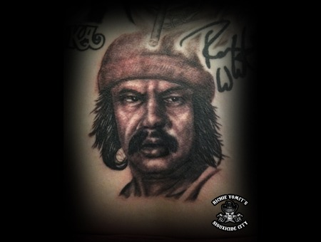 Black White Back