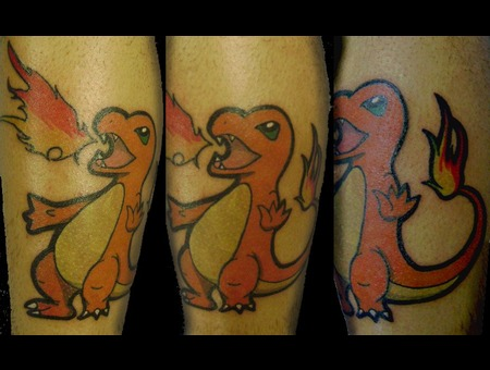 Pokemon Charmander  Color