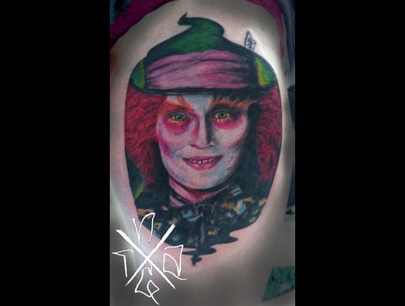 Color Nathangalmantattooartist Custom Awesome Colorportrait Color