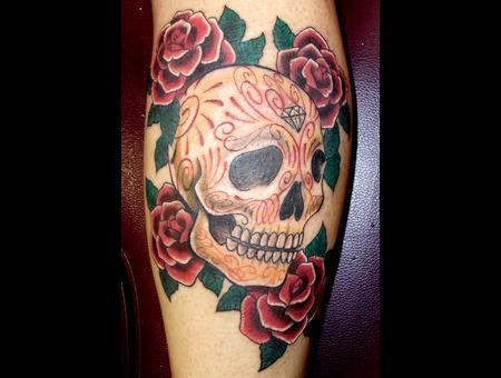 Skull  Pinstriping Color